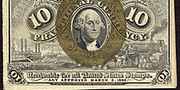 1863 2nd Issue 10 Cent Note