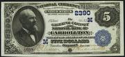 1882 $5 National Bank Notes Blue Seal