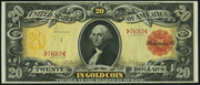 1905 $20 Gold Certificate Red Seal