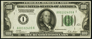 1928 $100 Federal Reserve Note Green Seal