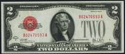 1928B $2 Legal Tender Red Seal