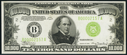 1934 $10000 Federal Reserve Note Green Seal
