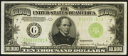1934A $10000 Federal Reserve Note Green Seal