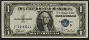 1935AR $1 Silver Certificates Blue Seal