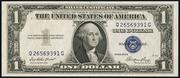 1935E $1 Silver Certificates Blue Seal
