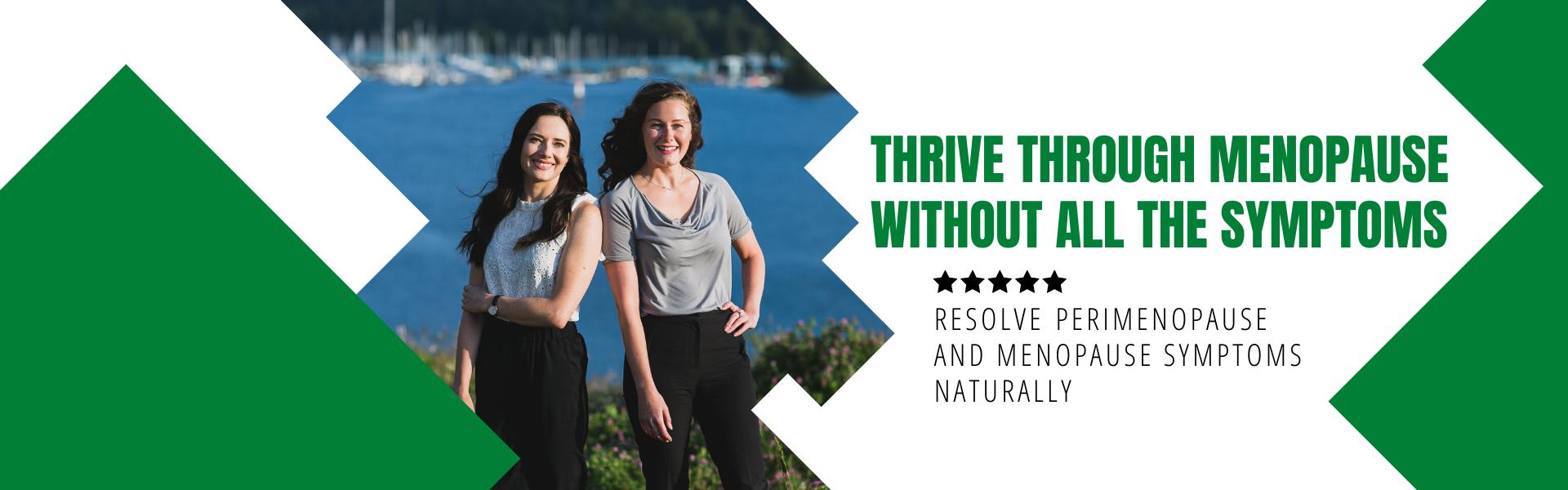 Thrive through menopause