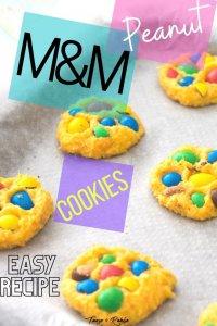 Peanut M&M Cookies - PIN1