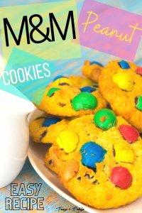 Peanut M&M Cookies - PIN2