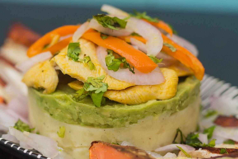 chicken ceviche spicy peruvian dish recipe