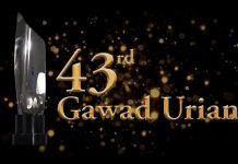 43rd Gawad Urian Winners and Reactions