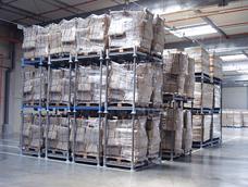 Loction et vente de rack de stockage mobile pour entrepôt logistique