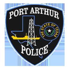 Port Arthur Texas Police Department emblem