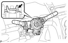turn signal removal diagram 2008 Toyota Yaris