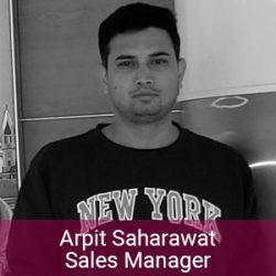 Enerex Team - Arpit Saharawat Sales Manager