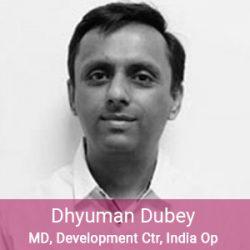 Enerex Team - Dhyuman Dubey, MD, Development Center, India Operations
