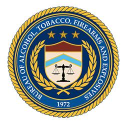 Bureau of Alcohol Tobacco Firearms and Explosives logo