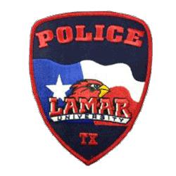 Lamar University Police Department emblem patch
