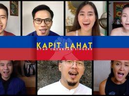 Ryan Cayabyab writes a new song, Kapit Lahat