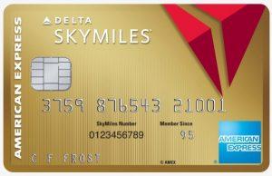 Delta Skymiles Gold Card