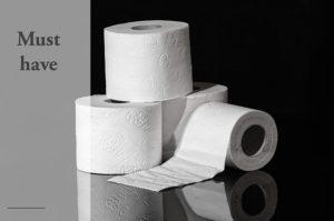 cheap prepping toilet paper