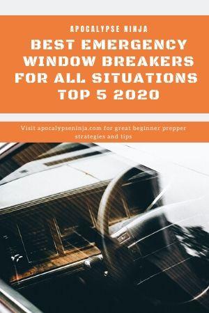 emergency window breakers pin