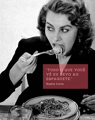 A famosa receita do espaguete ao pesto de salsa de Sophia Loren