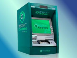 A kiosk for instant card point