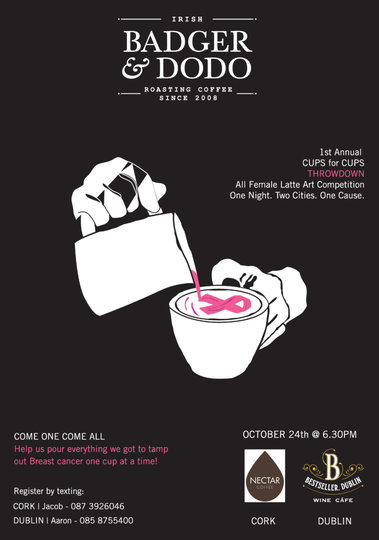Our first annual Cups for Cups Event supporting Breast Cancer Awareness! Poste BC