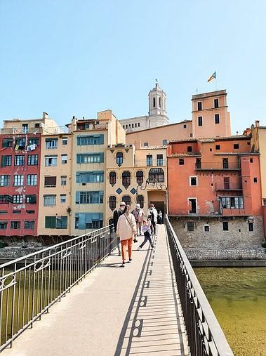 Weekend Trip To Girona, Spain - The Princess Bridge