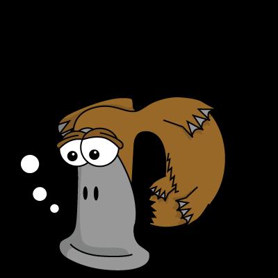 Cartoon Baby Platypus