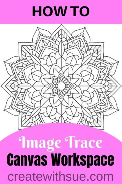 Canvas Workspace Image Trace Pinterest Pin