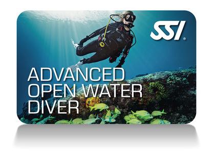 Advanced Open Water certification via SSI