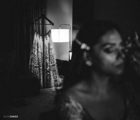 brides getting ready by wowdings