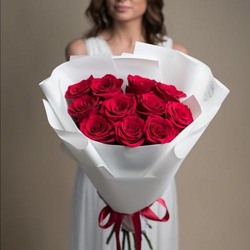 Букет из красных Роз №719 - Фото 42