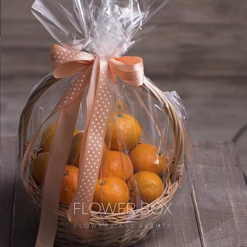 Корзина мандаринов №093 - Фото 16