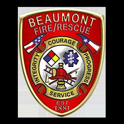 Beaumont Fire Dept emblem