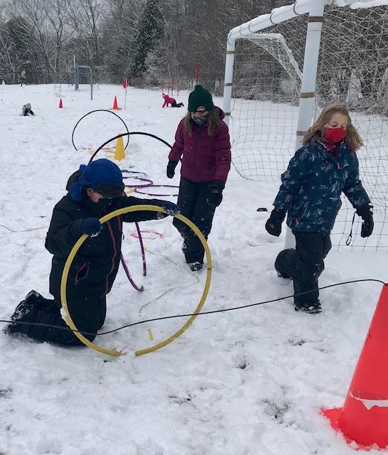 4th Grade West Bath School Week 3 Winter Games 2021 Moment of the Week