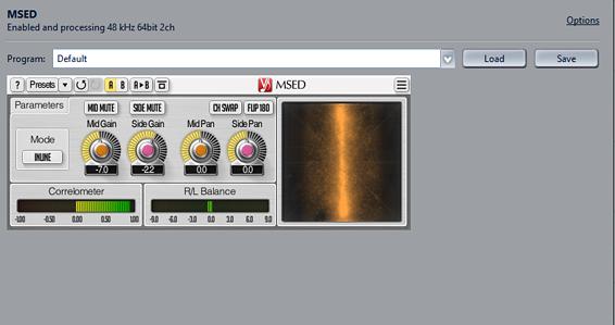 A Third Party VST plugin in JRiver's DSP Studio