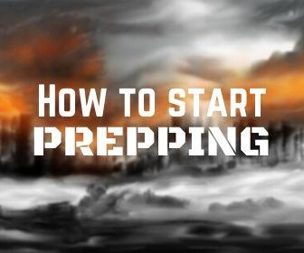 BEGINNER PREPPER START PREPPING LEARN PREPPING