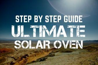 Build a solar oven