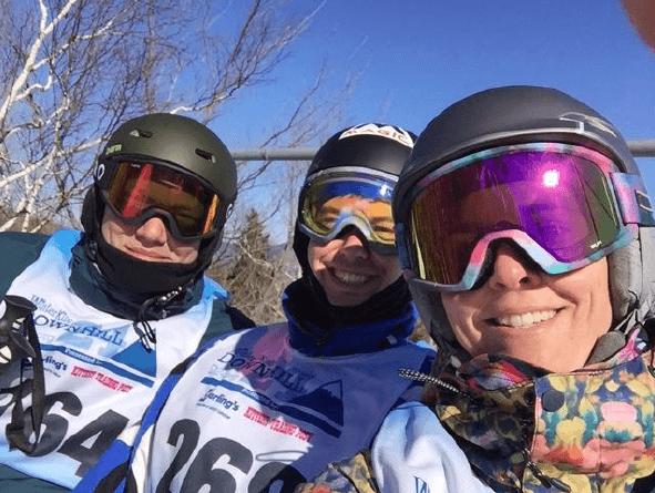 Acadia Insurance at WinterKids Downhill24 2
