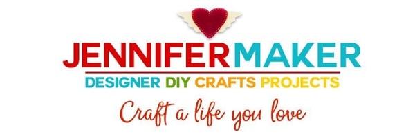 Logo for JenniferMaker free SVG website