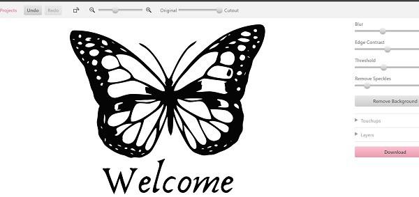 Cutecutter JPG to SVG online converter