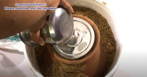 natural refrigerator more sand