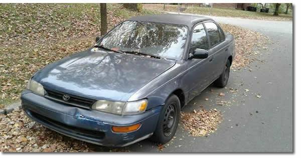 1994 Toyota Corolla idling