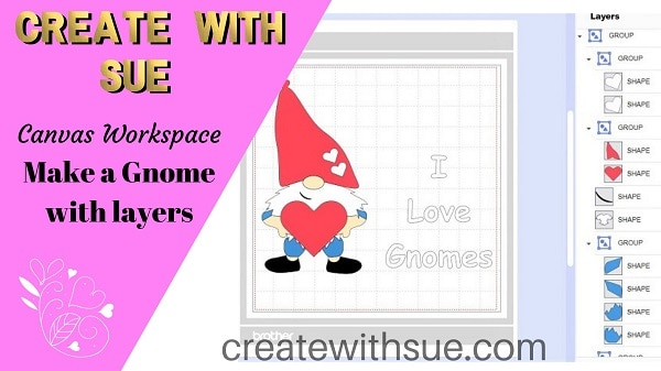 Making a Gnome with Heat Transfer Vinyl