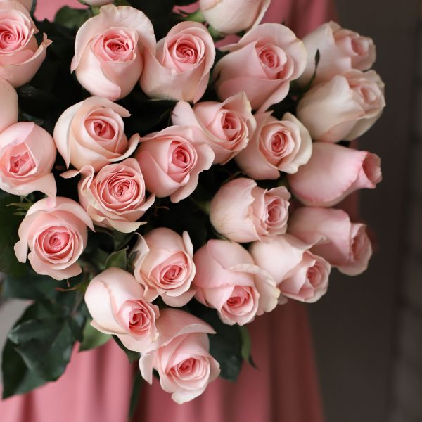 Монобукет из 25 роз (Эквадор) №1044 - Фото 2