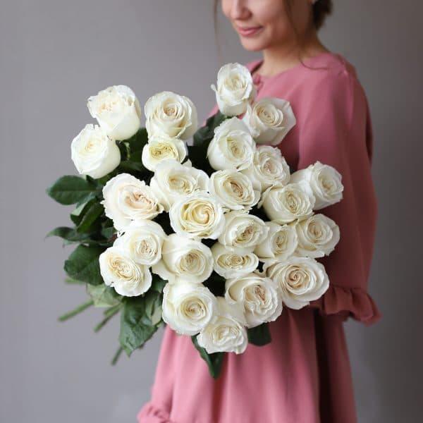 Монобукет из 25 роз (Эквадор) №1050 - Фото 3