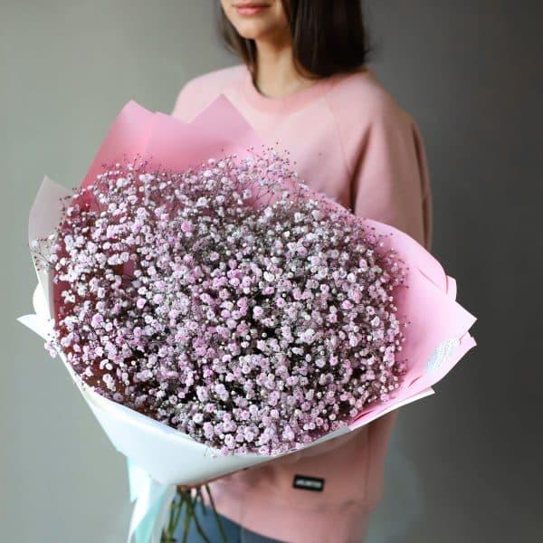 Монобукет из розовой Гипсофилы 11 шт №1087 - Фото 3