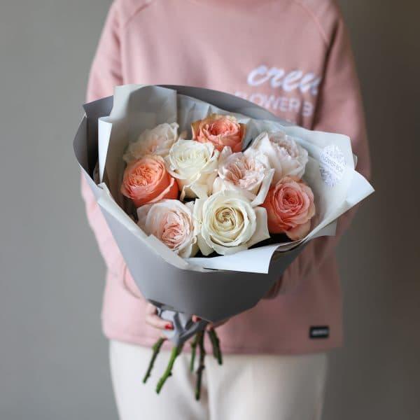 Монобукет из роз №894 - Фото 3